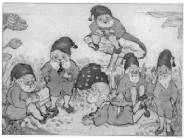 Een kindertekening van Lide Tulp.