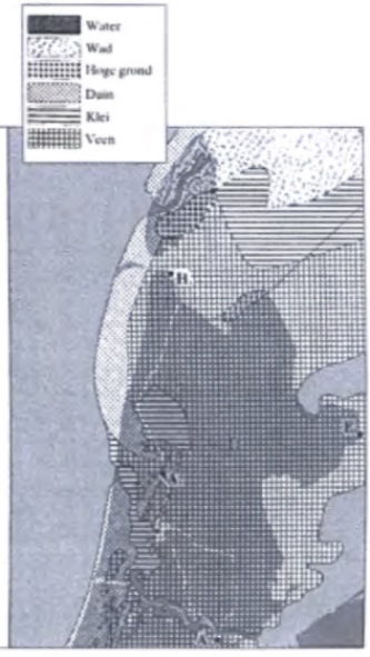 Omstreeks het begin van de jaartelling was de kust van Midden-Noord-Holland meer naar het westen aangegroeid en de gehele kustlijn nagenoeg gesloten. (Zagwijn 1986).