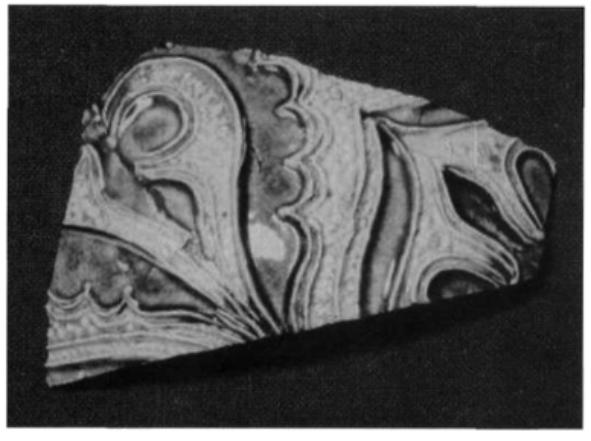 Scherfrest uit de 17e en 18e eeuw.