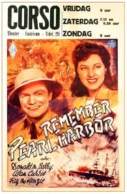 Filmaffiche van het Corsotheater uit de 1950 jaren.