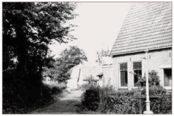 Het begin van het Slingerpad vanaf de Kramersweg.