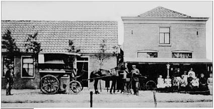 Café De Hoop in 1905.