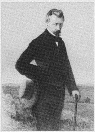 Willem Hofdijk in 1858 (gravure door J.H. Rennefeld).