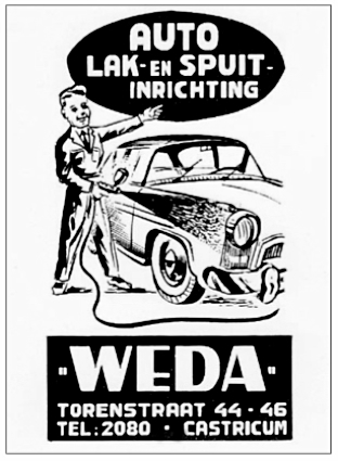 Weda auto spuitinrchting.