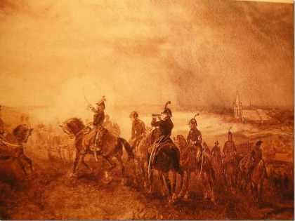 Slag bij Castricum 1799.