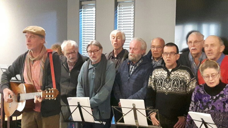 Protestsongs in De Duynkant