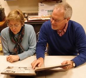 Weerzien van Irene Bulte en Hans Boot na 45 jaar