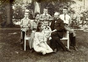 art03 08 Omstreeks 1911-12   Bakkum Fam JW Jacobi-van Leersum (Kopie)