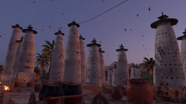 Karakteristieke bouwwerken: Egyptische duiventillen