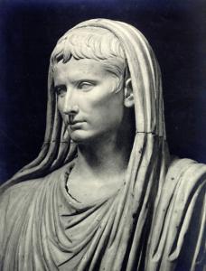 Augustus als Pontifex Maximus