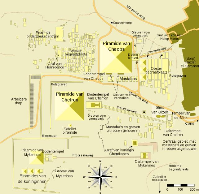 De mastaba van Seneb werd ontdekt in de Western Cemetery van de necropolis in Gizeh