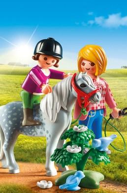 Playmobil Ponykamp