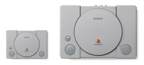 Playstation Classic vs PS1