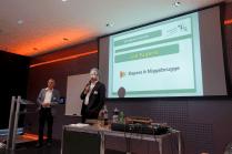 Jan Kupers (Kupers & Niggebrugge) en Hans van der Vlist (Dagvoorzitter)
