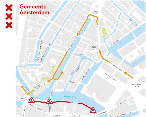 Herinrichting Amstel