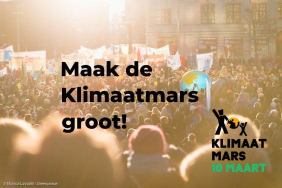 Kom naar de Klimaatmars
