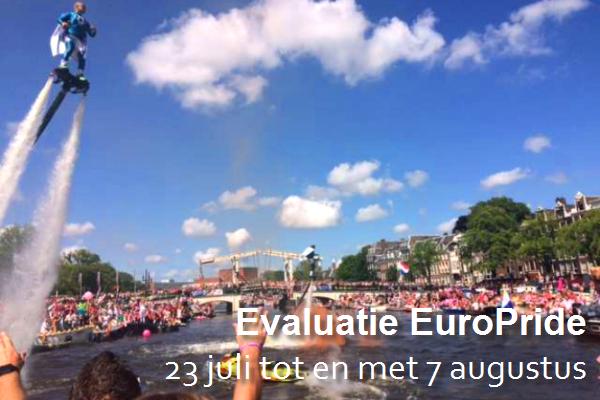 Evaluatie EuroPride 2016
