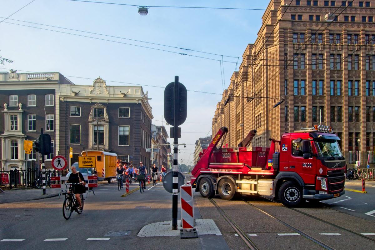 Vijzelstraat op de schop