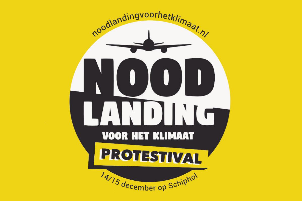 Protestival op Schiphol