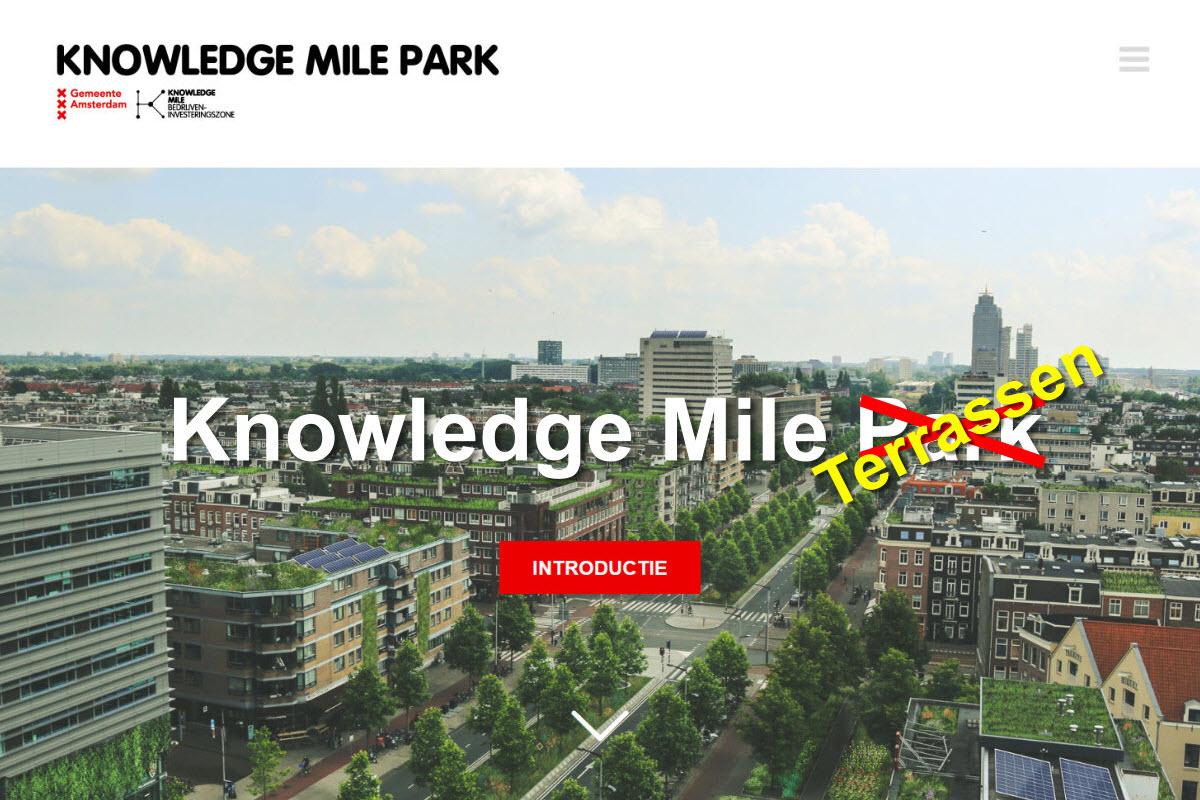 Knowledge Mile Terrassen