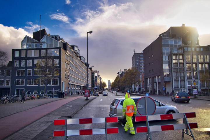 afsluiting Weesperstraat