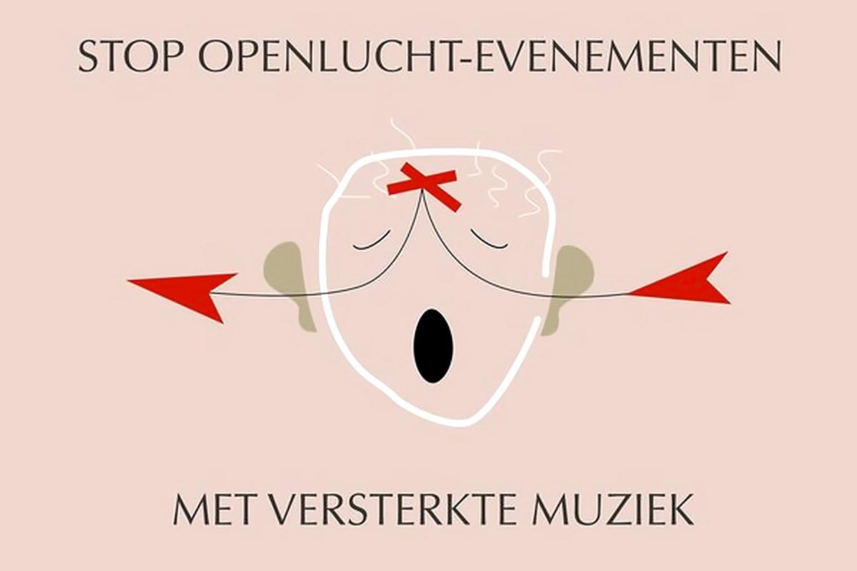 Petitie: Stop openlucht evenementen met versterkte muziek