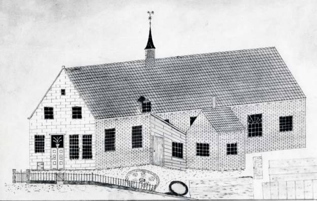 De tijdelijke RK kerk Houten