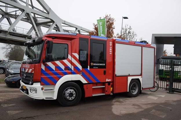 auto brandweer Houten