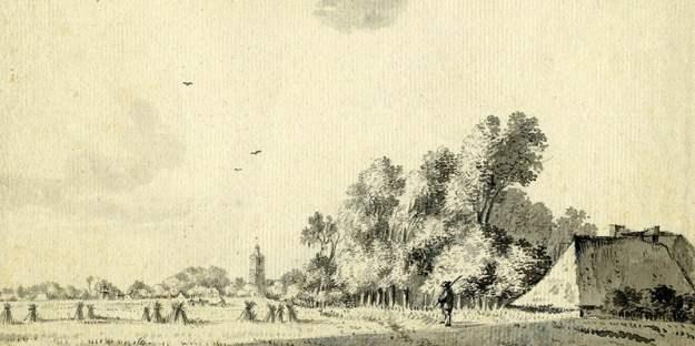 Houten in 1758