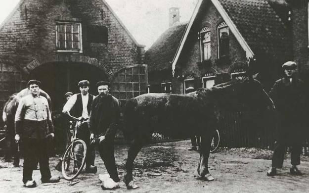 Lucas van Hengstum vermoedelijk met fiets.