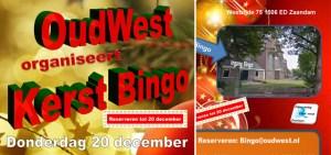 Kom naar de Kerstbingo op 20 december!
