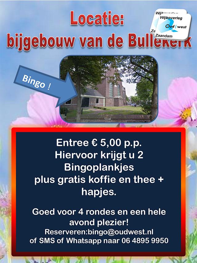Kom op woensdagavond 17 juli naar de zomerbingo van Wijkoverleg Oud-West en win leuke prijzen!