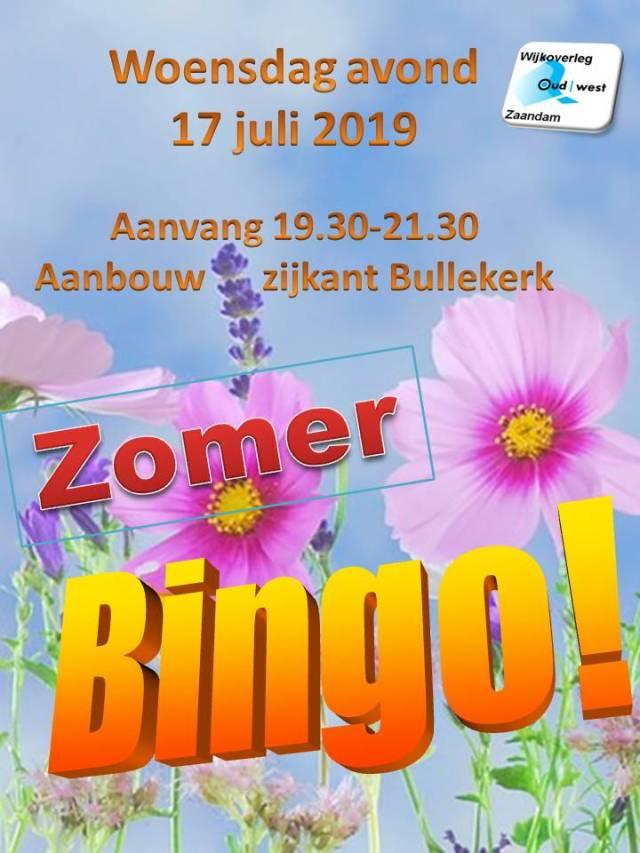 Zomer Bingo