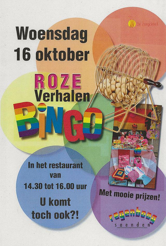 Roze Verhalen Bingo