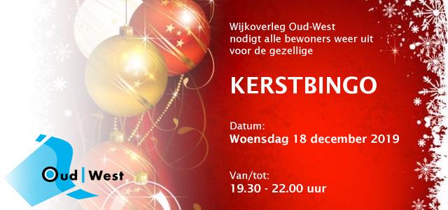 Komt u ook naar de Kerstbingo van Oud-West?