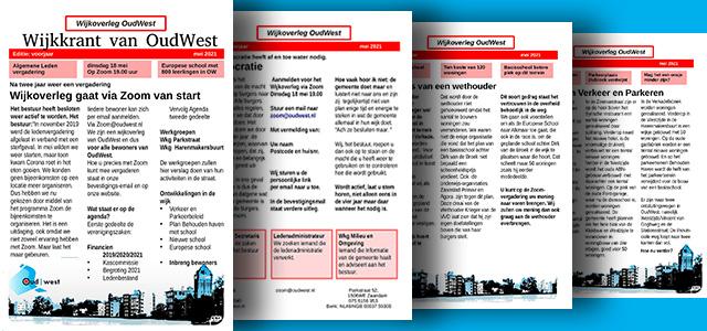 Wijkoverleg Oud-West