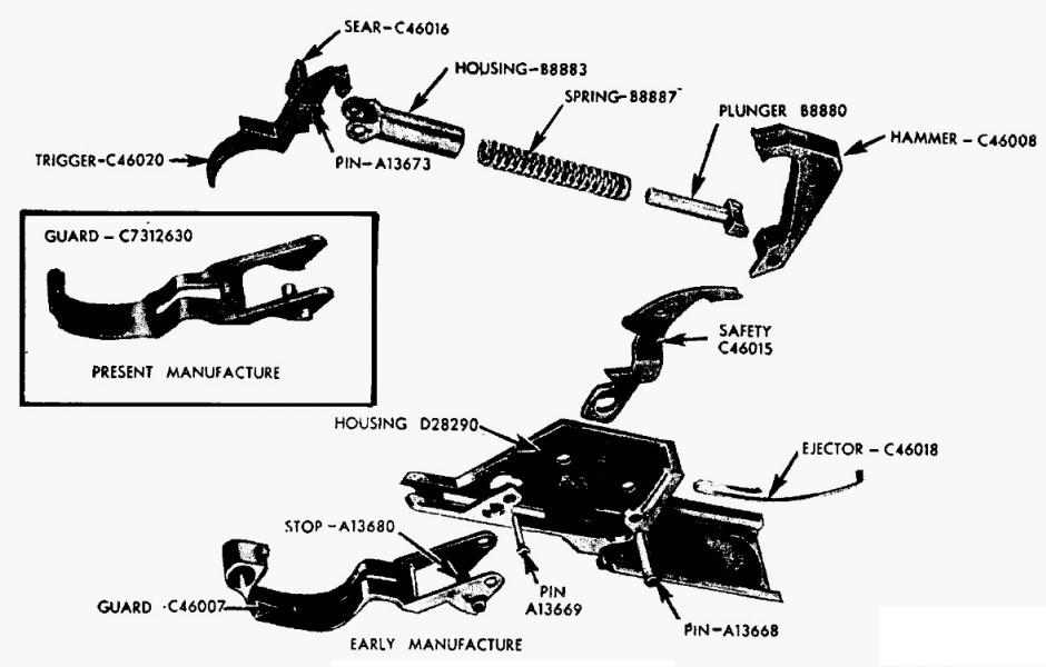 US WW2 : Le fusil Garand M1 / The Garand M1 Rifle