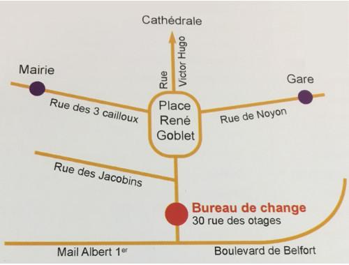 Bureau De Change DAmiens OUEST CHANGE Bureau De Change