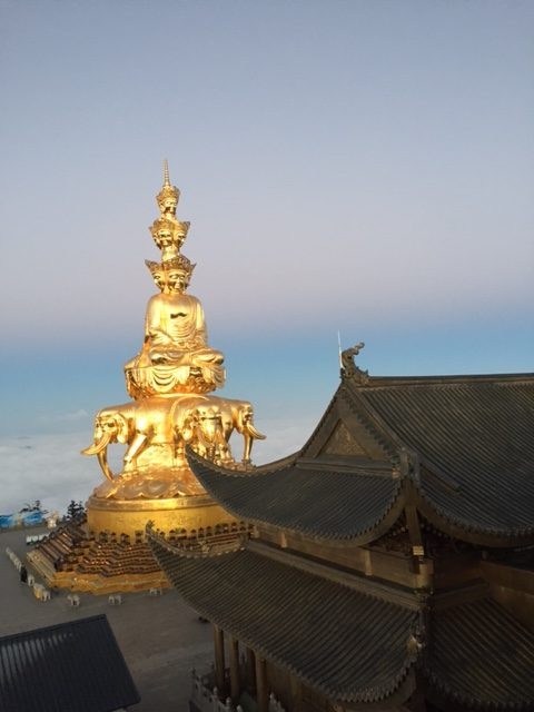 Samantabhadra after sunrise