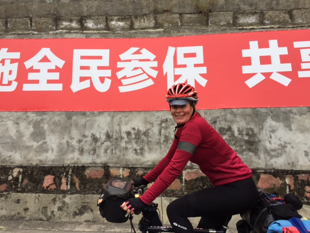 Happiness = cycling in China
