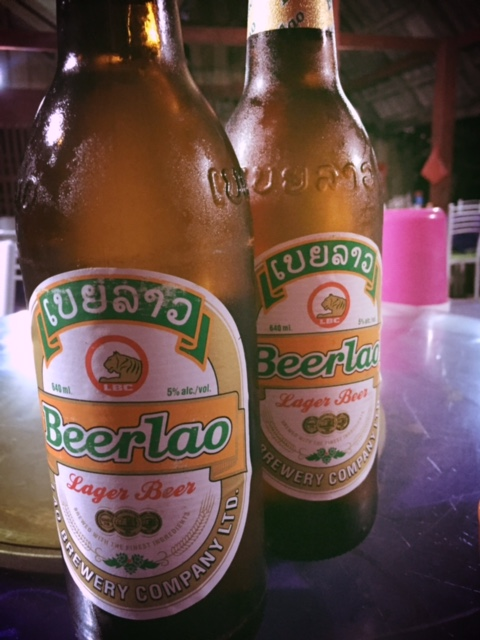 Chilled Beerlao
