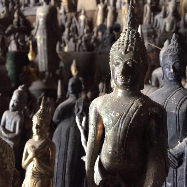 Buddha cave at Pak Ou