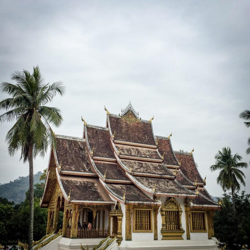 Classical Luang Prabang wat