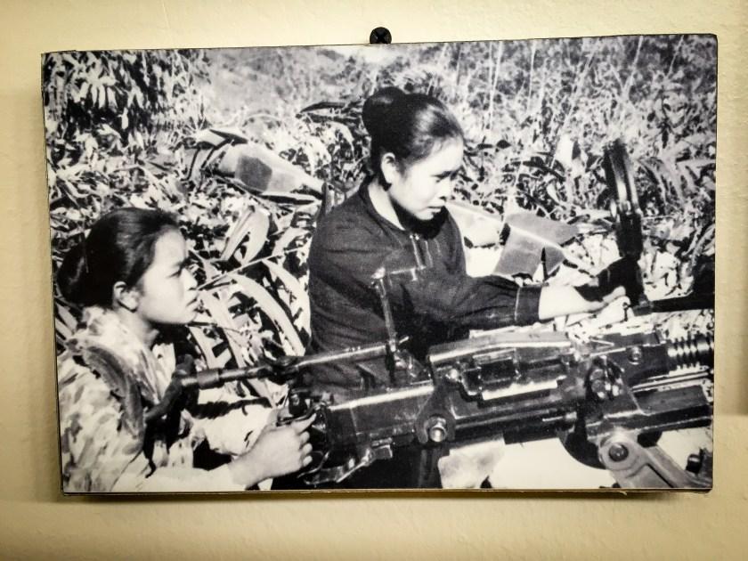 Lao ladies fighting in the secret war