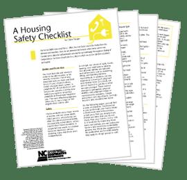 AGE : Housing Safety Checklist