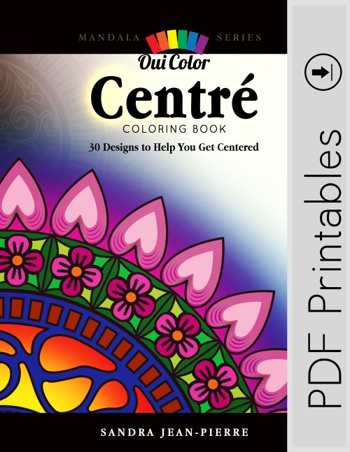 Oui Color Adult Coloring Books | Coloring Pages | Printable Digital Download |