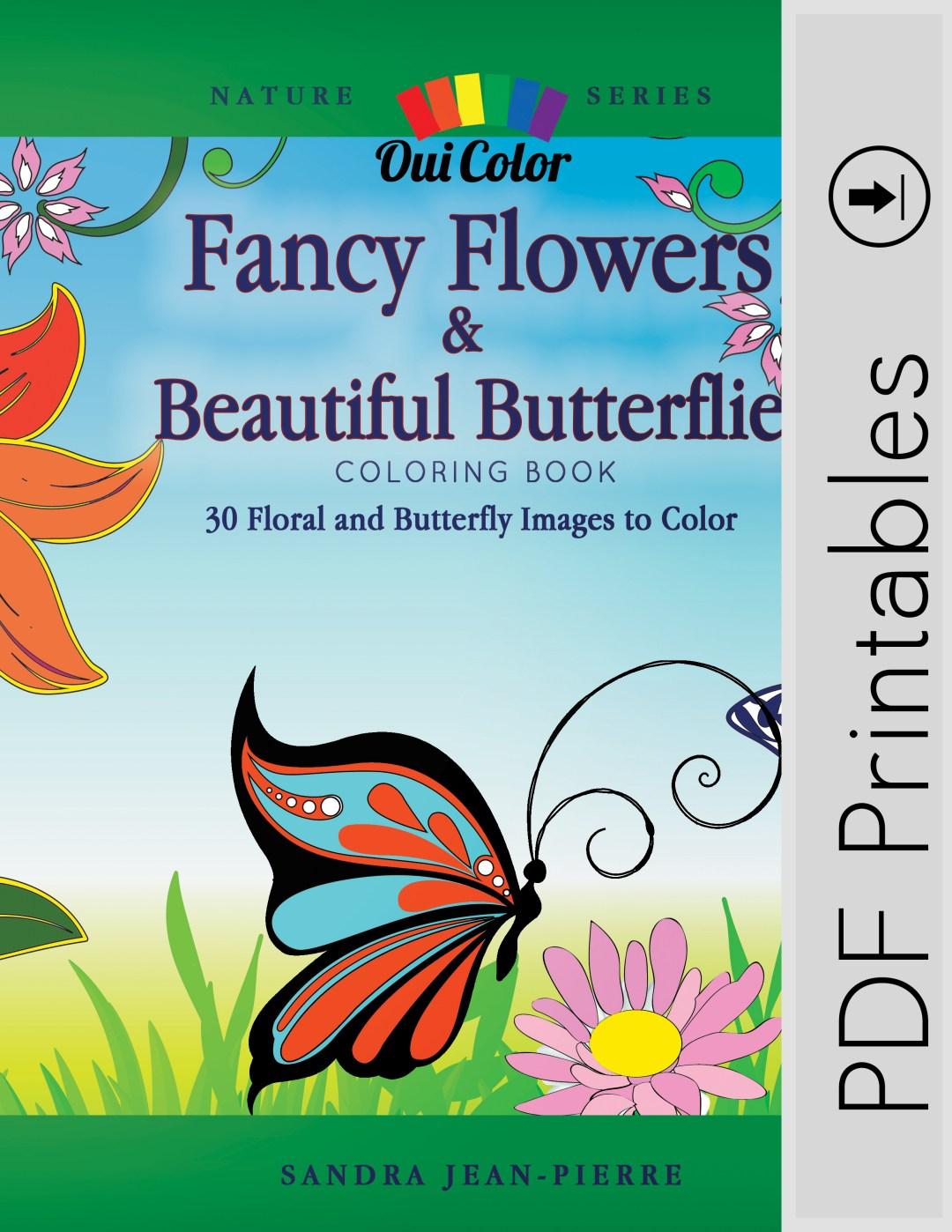 Fancy Flowers & Beautiful Butterflies (PDF Book)