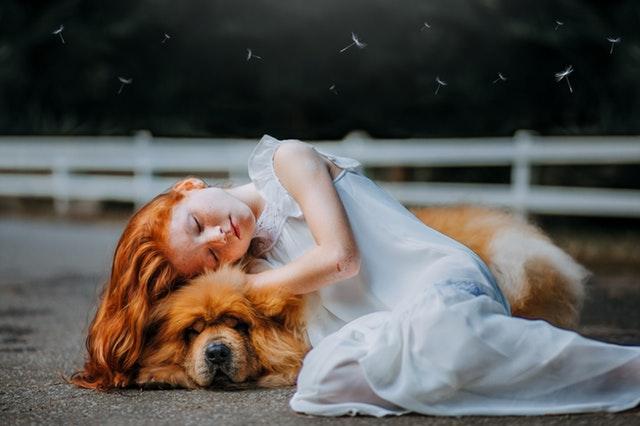 petite-fille-qui-dort-sur-son-chien