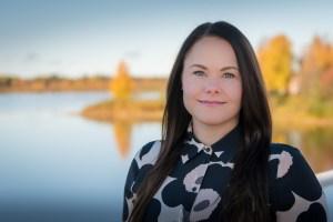 Kuvassa Miina-Anniina Heiskanen.