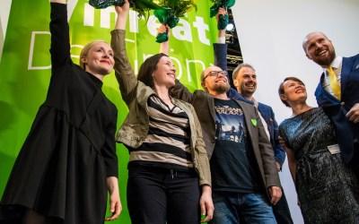 Oulun vaalipiirin Vihreiden Hanna Halmeenpää valittiin Vihreiden varapuheenjohtajaksi